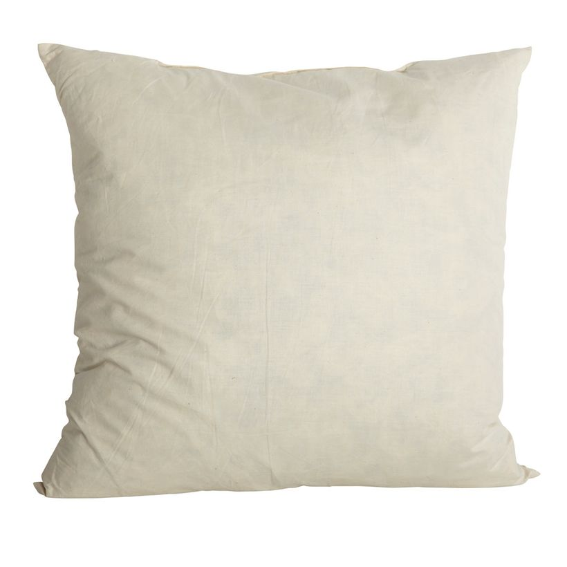 Garnissage de coussin 50 x 50 cm en plume House Doctor
