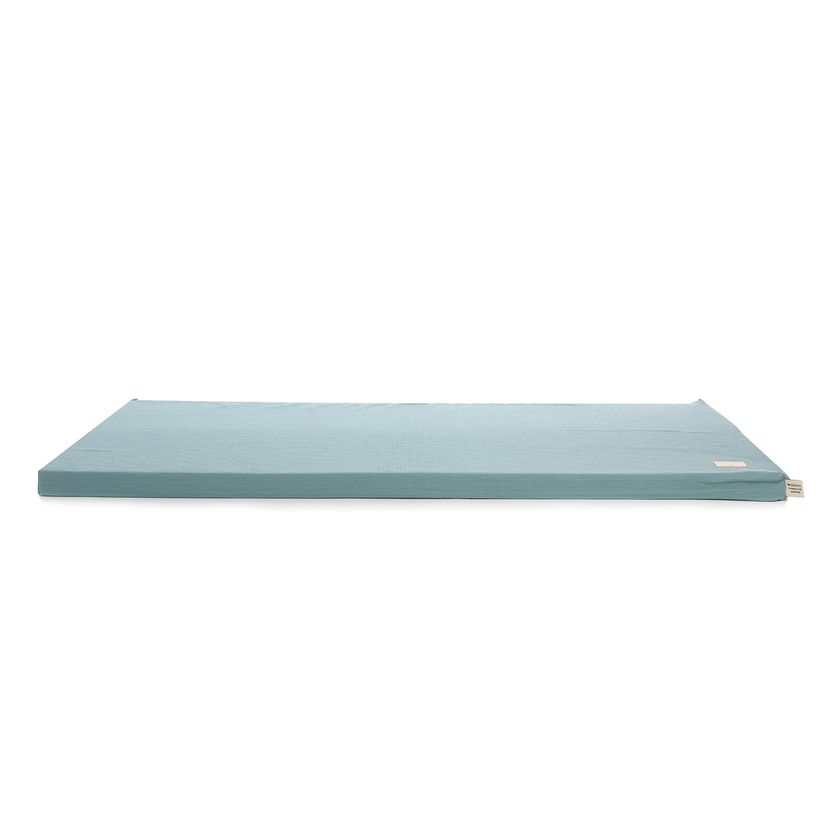 Matelas De Sol En Coton Nid D Abeille St Barth Magic Green Nobodinoz