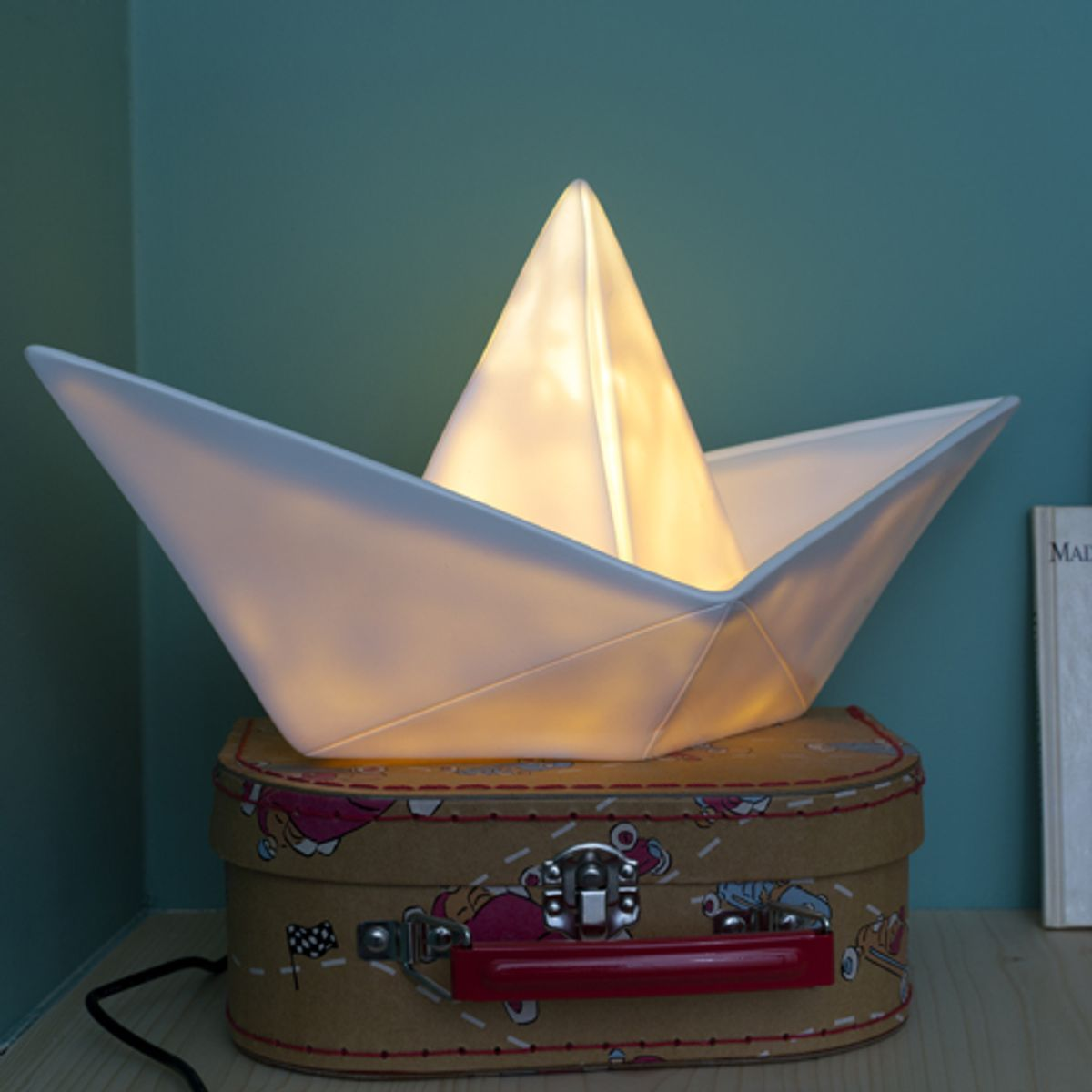 Lampe / veilleuse Bâteau en vinyle Goodnight Light - Blanc
