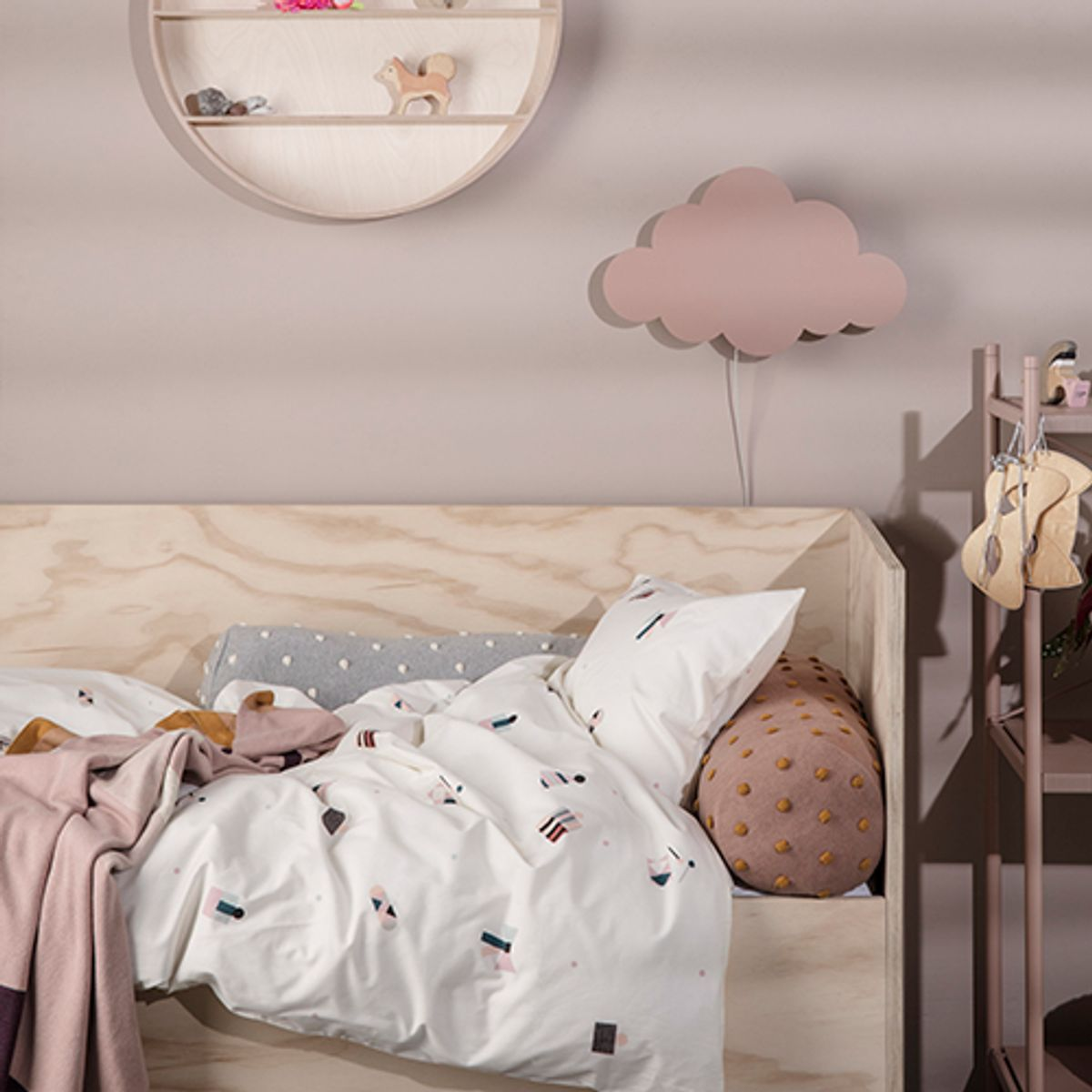 house de couette enfant en coton biologique party ferm living decoclico. Black Bedroom Furniture Sets. Home Design Ideas