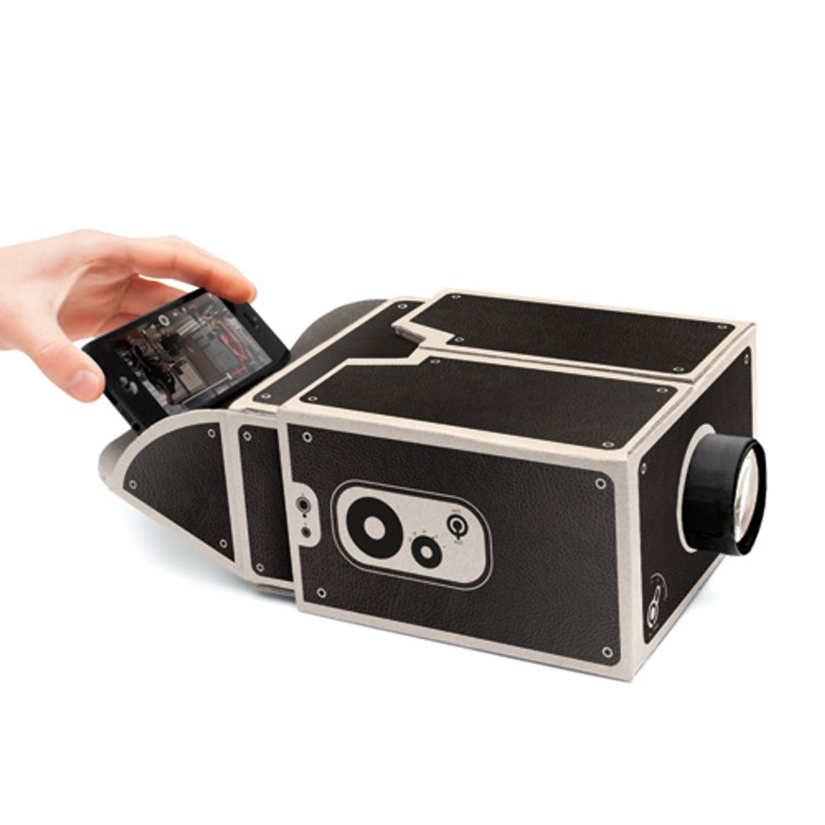 Projecteur en kit à assembler Smartphone Projector Luckies