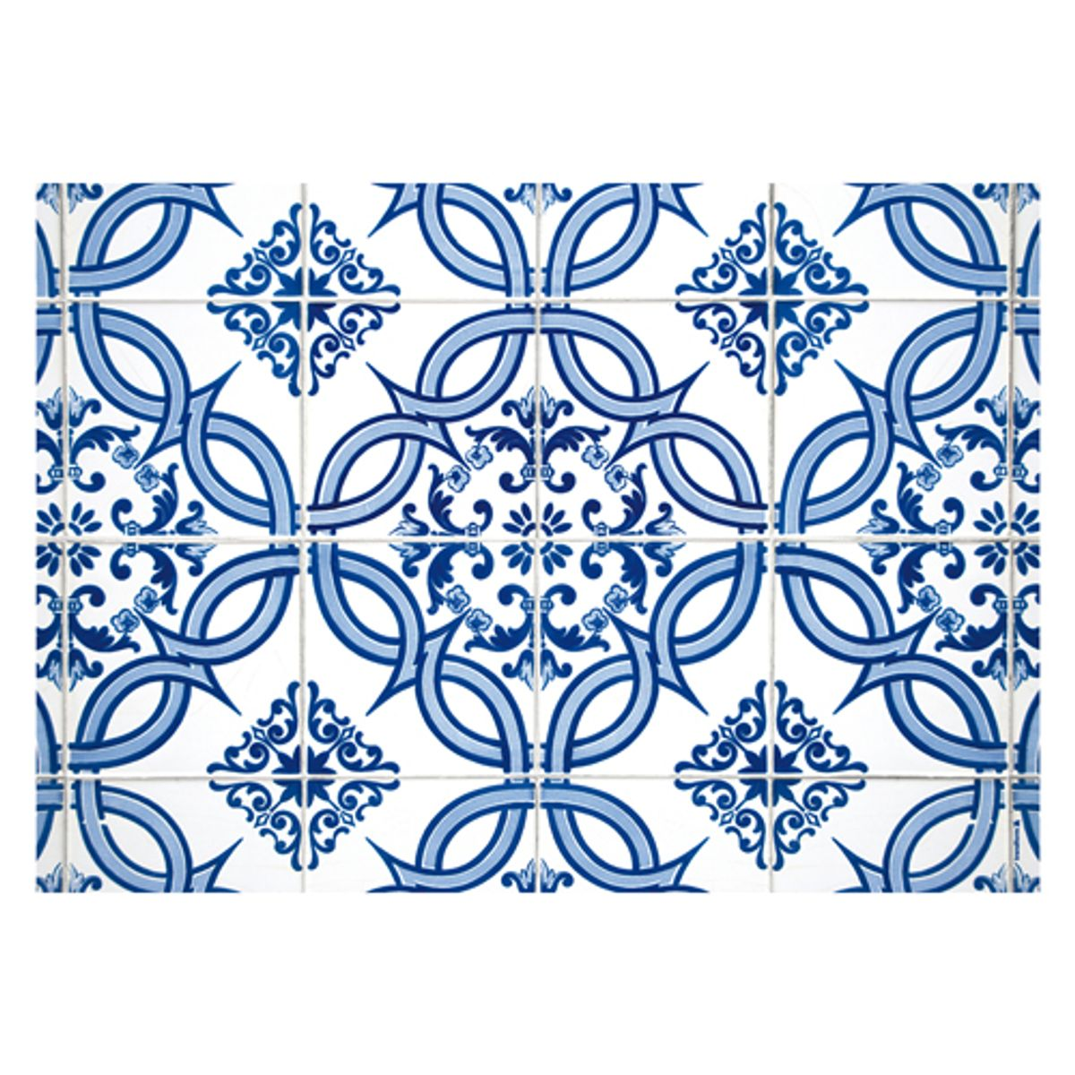 Set de table en papier motif faïence azulejos PA Design (par 48)