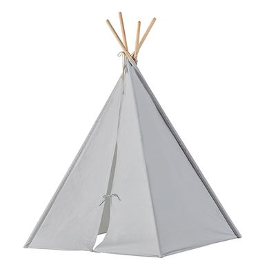 tipi en tissu gris et bois naturel neo kid 39 s concept decoclico. Black Bedroom Furniture Sets. Home Design Ideas